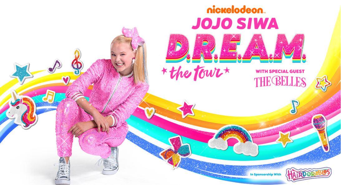 It S Jojo Siwa Work Nickelodeon D R E A M The Tour